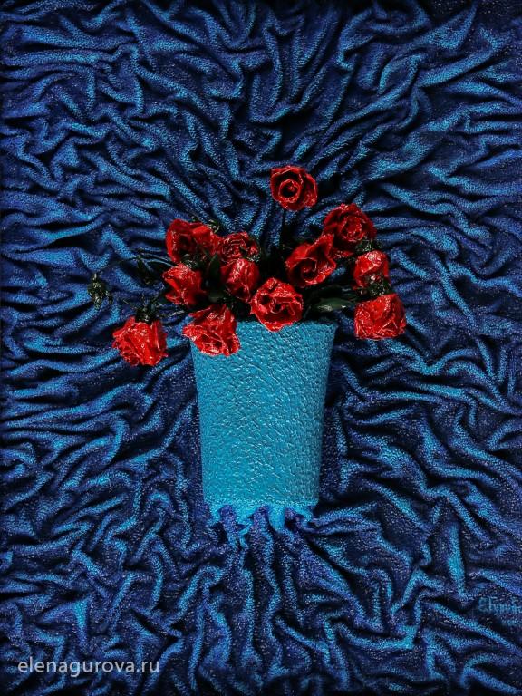 "Картина ""Розы"", 2014г"