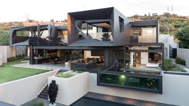 Дом у дороги Клоф в Йоханнесбурге