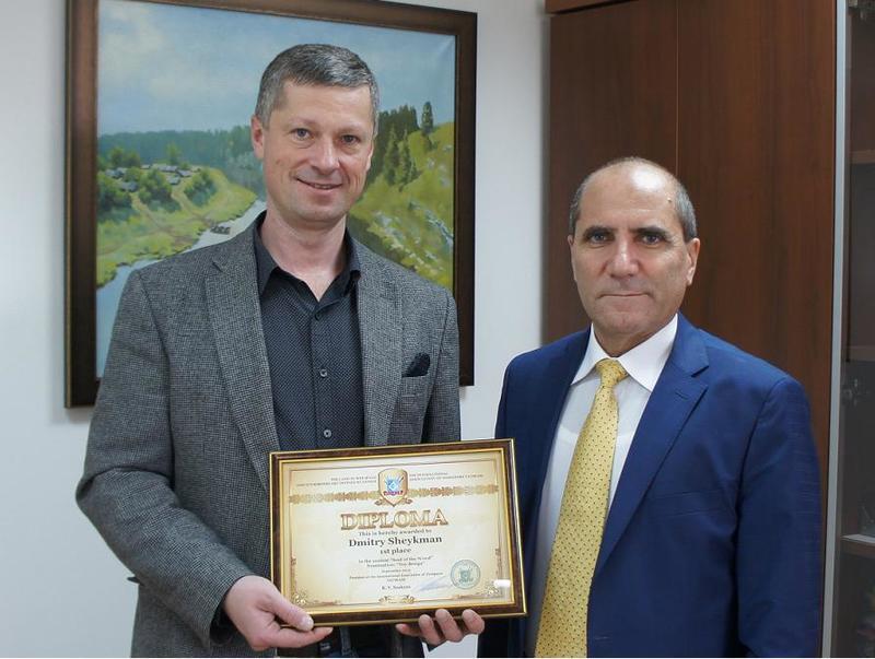 Дмитрий Шейкман и Камо Саакян