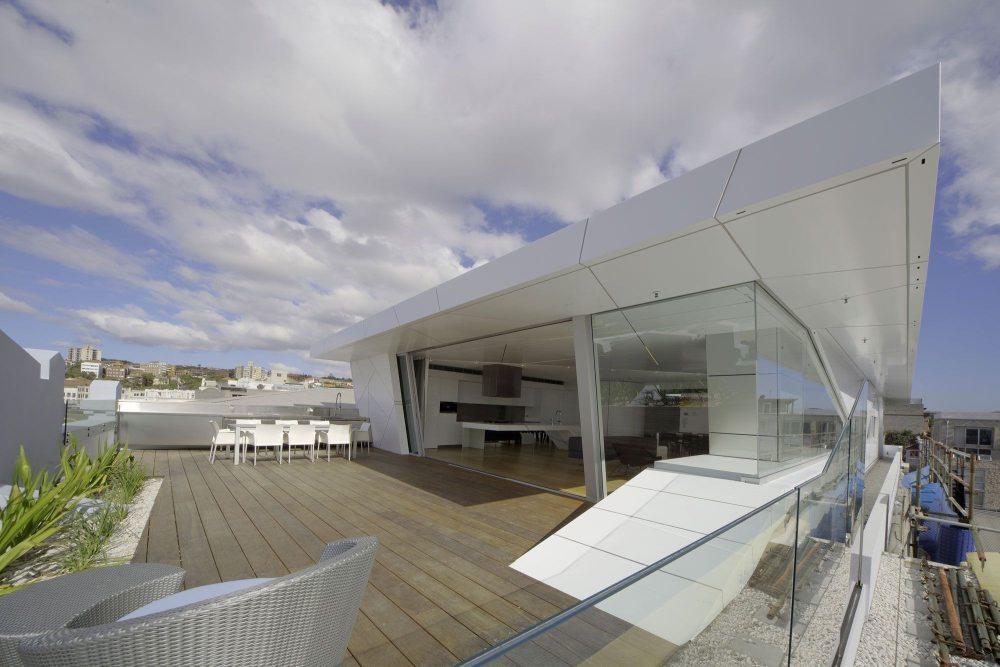 современный пентхаус на крыше